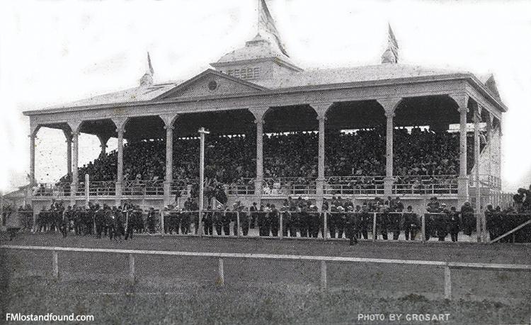 Fargo Fairgrounds Grandstand, 1908